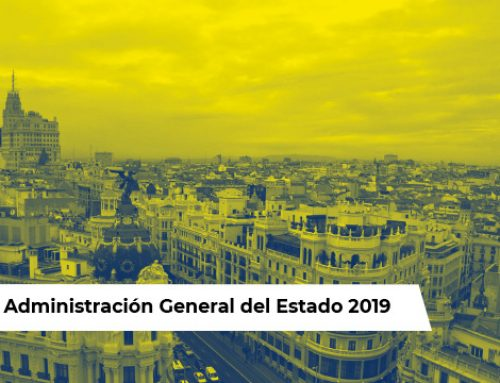 OPE Administración General Estado 2019